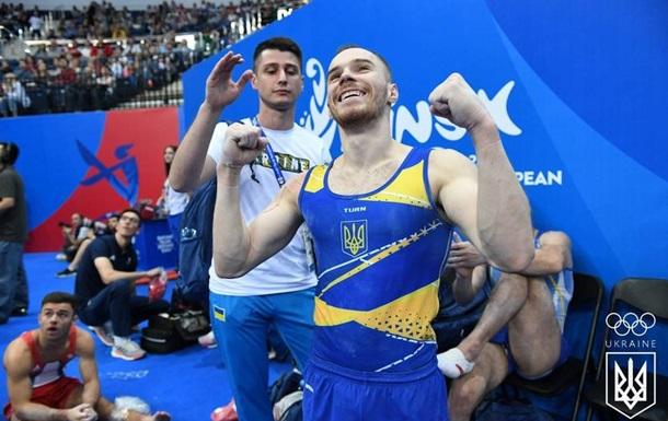 Верняев и Бачинская завоевали две золотые медали Европейских игр по гимнастике