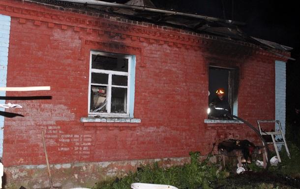 У пожежі на Хмельниччині загинула дитина