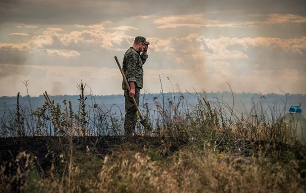 На Донбасі від пожежі здетонували снаряди