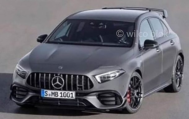 В Сети появились фото нового Mercedes-AMG A45
