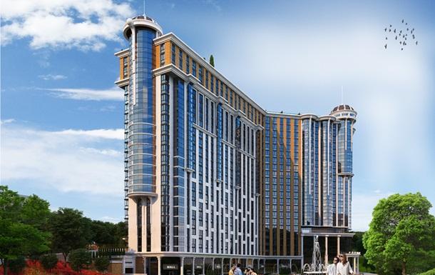 Жилой Комплекс  Podil Plaza & Residence  с двухуровневыми пентхаусами с бассейном
