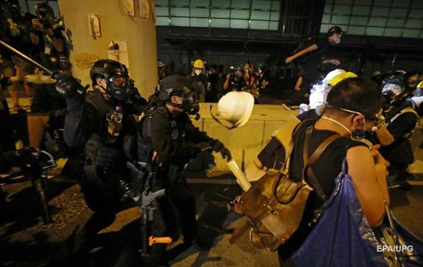 У Гонконзі поліція почала розгін протестувальників