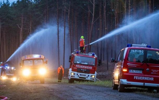 На півночі ФРН найбільша в історії регіону лісова пожежа
