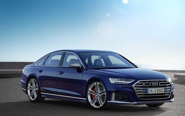 Audi показала свой новый седан S8