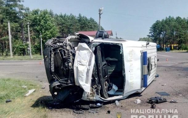ДТП грузовика и  скорой  на Волыни: скончалась дочь пациента