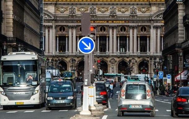 Старим дизельним авто заборонили в їжджати до Парижа