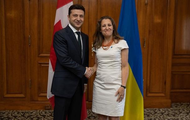 Зеленський в Канаді розповів про курс в ЄС і НАТО