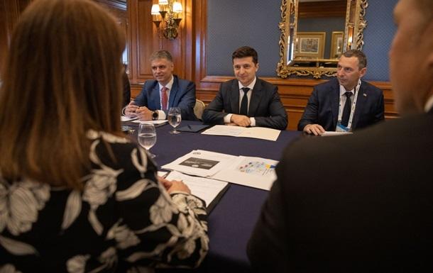 Зеленский провел ряд встреч в Канаде