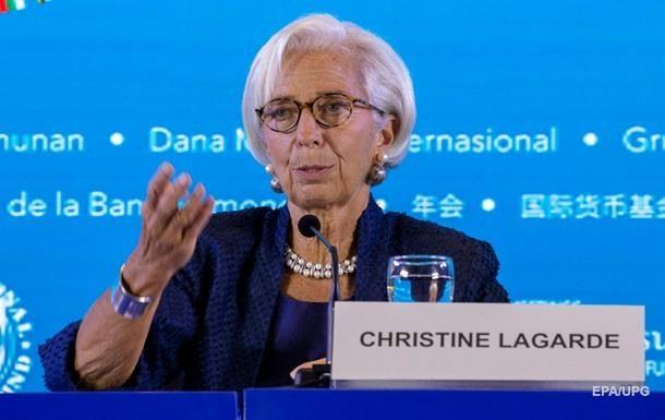 Лагард приостановила исполнение обязанностей главы МВФ