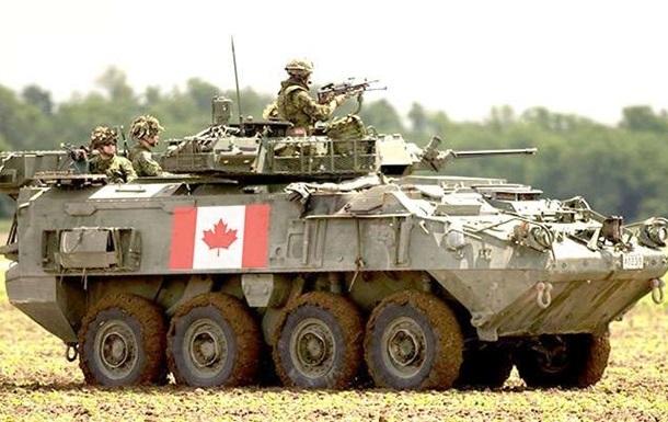 Канада будет поставлять Украине бронетехнику