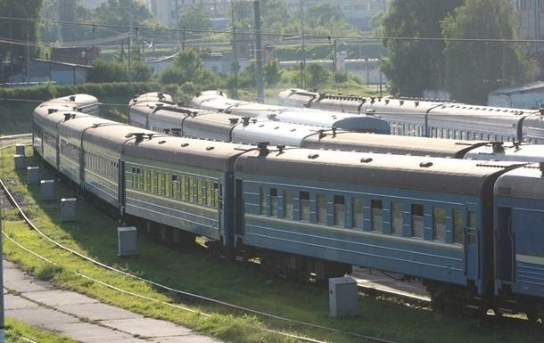 Ураган в Кривом Роге задержал 10 поездов
