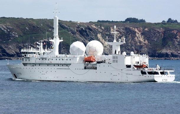У Чорне море увійшов великий розвідувальний корабель ВМС Франції
