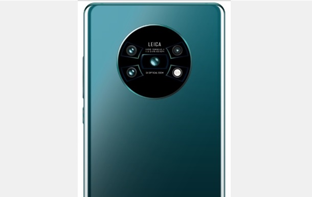 Флагман Huawei Mate 30 Pro показали на першому фото