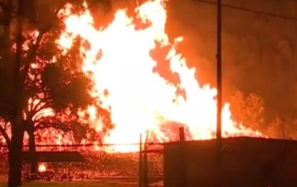 У США згоріли дев ять мільйонів літрів віскі