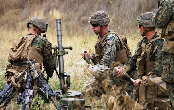 Военные США и Украины провели боевые стрельбы