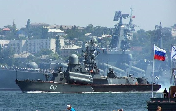РФ проводить бойові навчання в Чорному морі