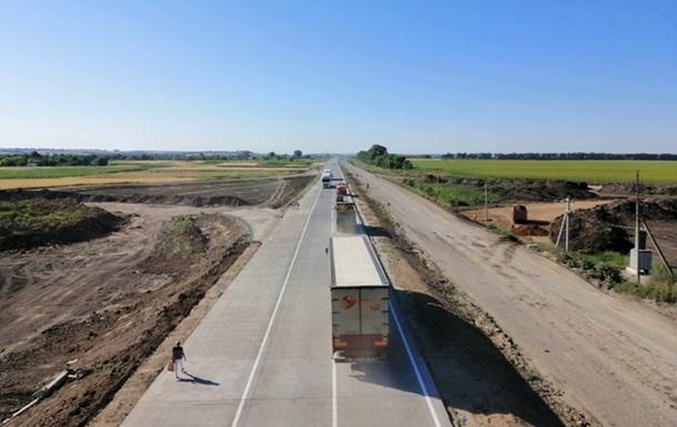 В Украине открыли 12 километров бетонной дороги