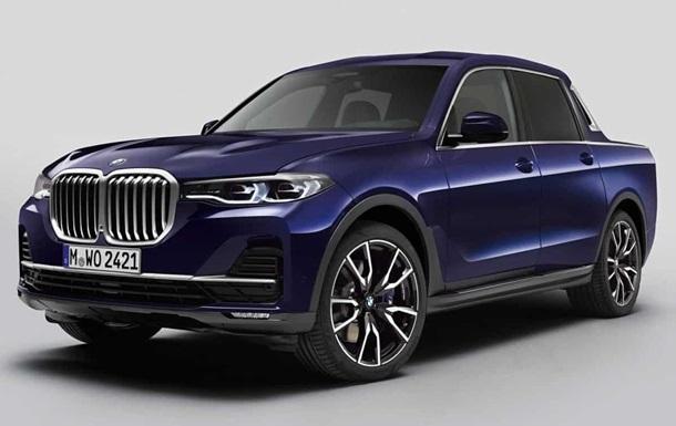 BMW X7: фото
