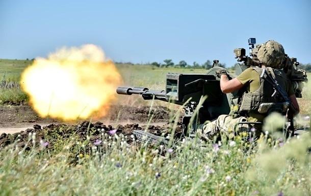 На Донбассе ранен боец ВСУ, у еще четверых травмы