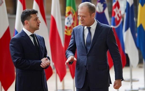 Туск и Зеленский посетят Донбасс