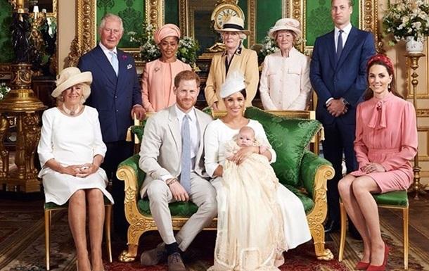 Принц Гарри и Меган Маркл покрестили сына