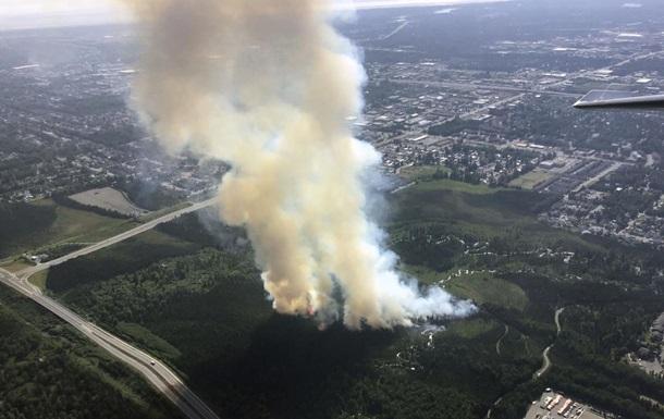 На Аляске горят леса из-за рекордной жары
