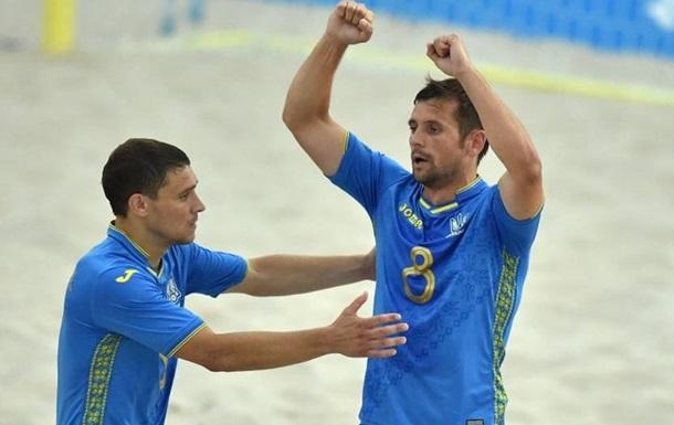 Збірна України з пляжного футболу вийшла в суперфінал Євроліги