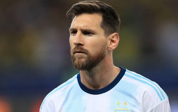 Мессі можуть відсторонити від ігор за збірну Аргентини на два роки