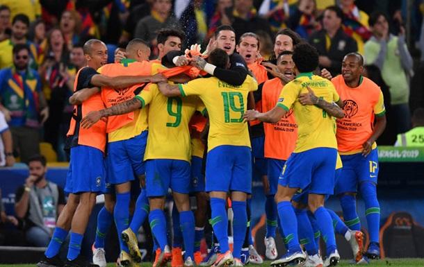 Збірна Бразилії - переможець Кубка Америки-2019