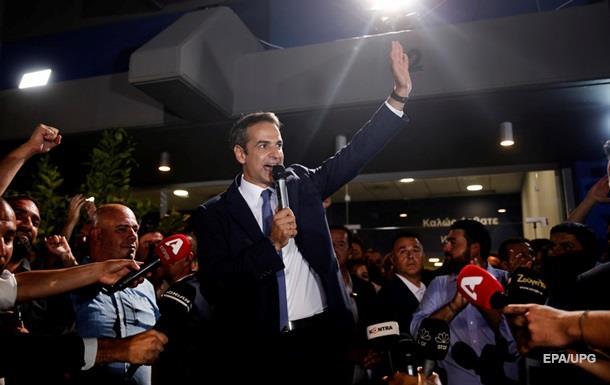 На выборах в Греции победила оппозиционная партия