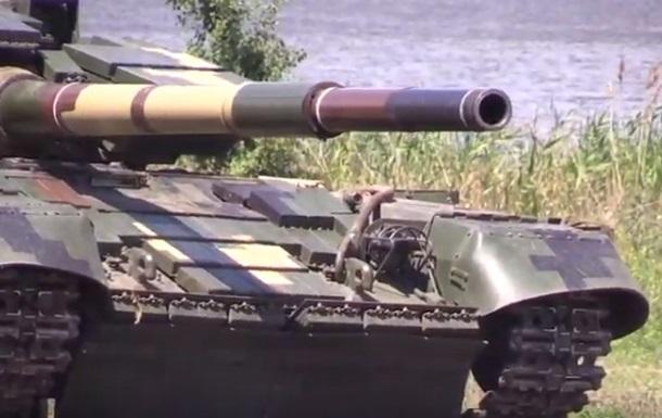 ЗСУ провели танкові навчання поблизу фронту