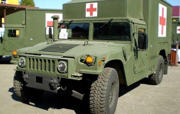На Донбассе ранен медик