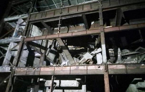 Под Павлоградом произошел обвал здания