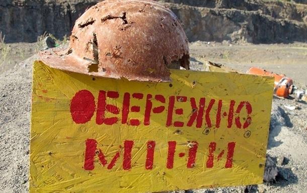 На Донбассе растет число подрывов населения на минах
