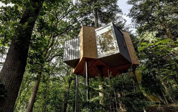 У Данії з явилися готельні номери на деревах