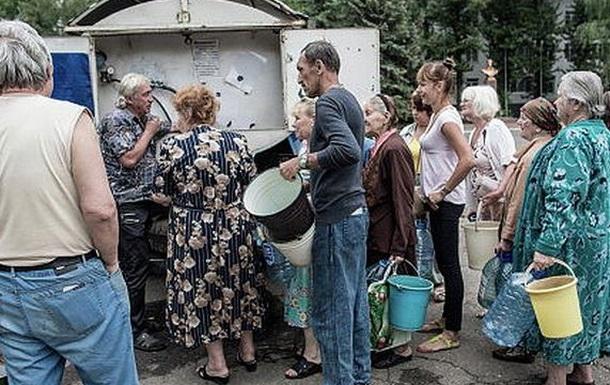 Гуманитарная катастрофа на Донбассе