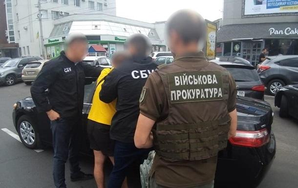 Полицейского поймали на взятке в 200 тысяч гривен в Виннице