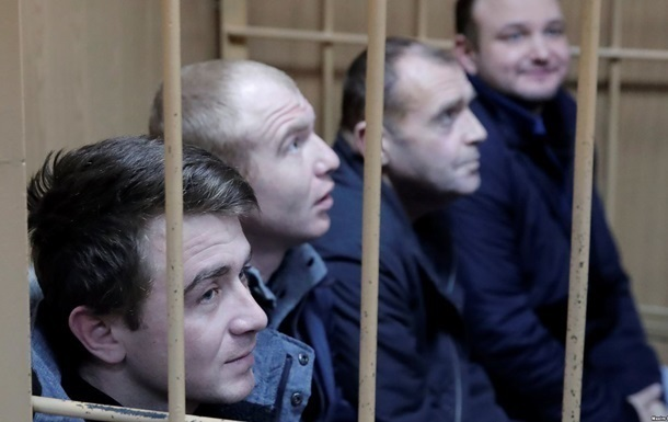 В РФ всем украинским морякам выдвинули обвинения