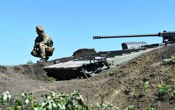 На Донбасі поранено п ятьох військових