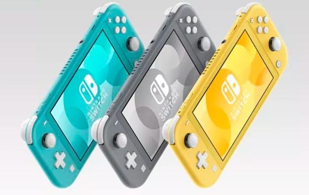 Nintendo представила портативную консоль Switch Lite