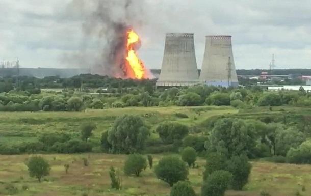 На ТЭЦ под Москвой произошел крупный пожар