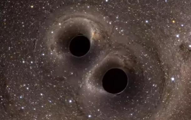 Найдены две  танцующих  сверхмассивных черных дыры