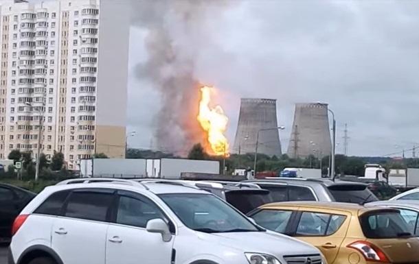 Пожежа на ТЕЦ під Москвою: стало відомо про жертви