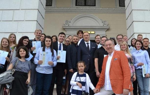 Яскраве свято влаштувала адміністрація Музичної Академії