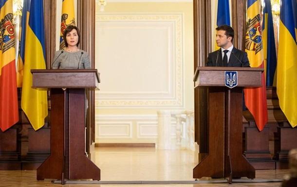 До Зеленського приїхала новий прем єр Молдови