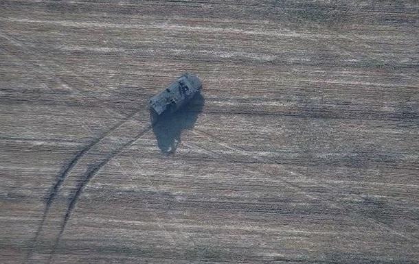В сеть выложили видео погони ВСУ за САУ сепаратистов