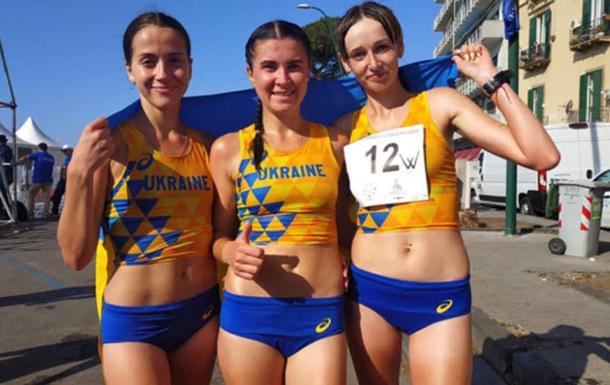 Украинские легкоатлетки выиграли серебро Универсиады в ходьбе на 20 км