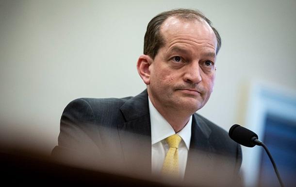 Министр труда США ушел в отставку на фоне скандала с Эпштейном