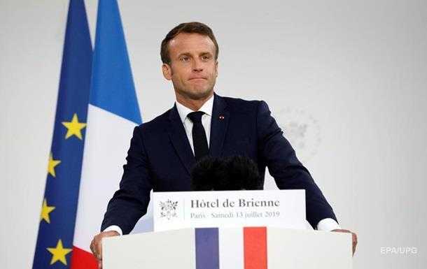 Макрон объявил о создании командования космических сил Франции