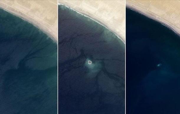 Біля пакистанського узбережжя зник острів